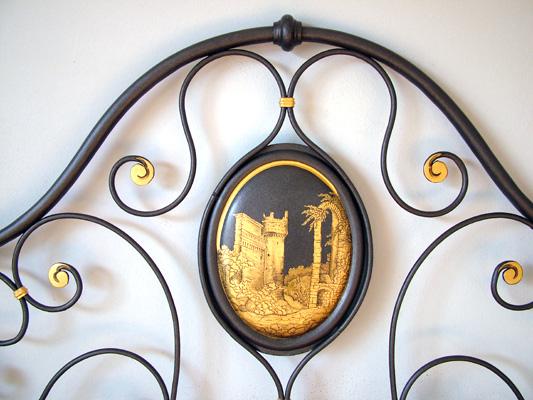 Restauro oggetti antichi - Testate letto in ferro battuto ...